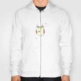 Owl Heart Hoody