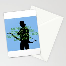Alec Lightwood - Mundanes Stationery Cards