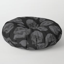 Skulls Floor Pillow