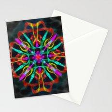 Vibrant shield decoration Stationery Cards