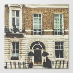 London Facade  Canvas Print