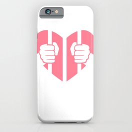 Cardiac Arrest Funny Valentines Day iPhone Case