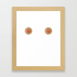 Nipples Framed Art Print