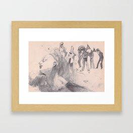 danza5 by nicolas Perruche Framed Art Print