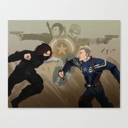 Time Skip Canvas Print