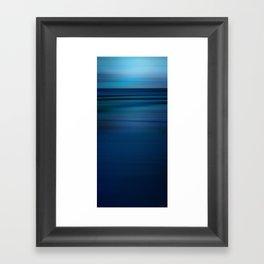 Endless Blue Framed Art Print