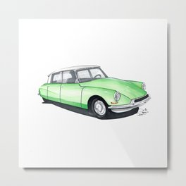 Citroën DS. Metal Print