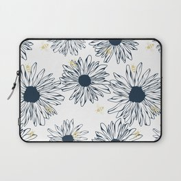 The Bees Knees - Blue Laptop Sleeve