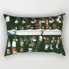 Vintage Coke Bottles Rectangular Pillow
