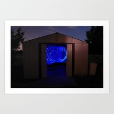 Light Shed Art Print