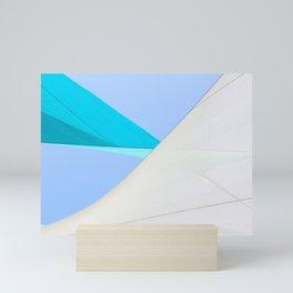 Abstract Sailcloth c1 Mini Art Print