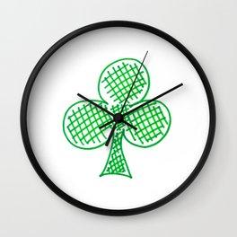 Clover Wall Clock