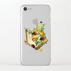 Secret Garden Clear iPhone Case