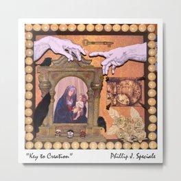 """Key to Creation"" Metal Print"