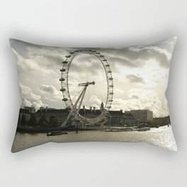London Eye Landscape Rectangular Pillow