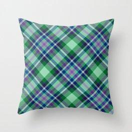 Scottish tartan #25 Throw Pillow