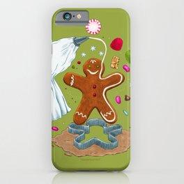 Gingerbread Joy iPhone Case