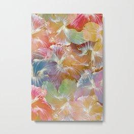 Hibiscus Trumpets #4 Metal Print