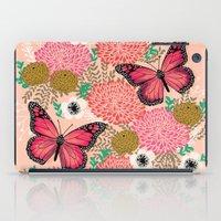 vegetarian iPad Cases featuring Monarch Florals by Andrea Lauren  by Andrea Lauren Design