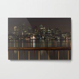 Seattle Lights Metal Print