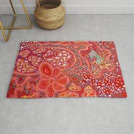 Crimson Tapestry Rug