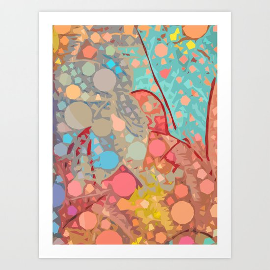 Love2Snap Digital Paint Art Print