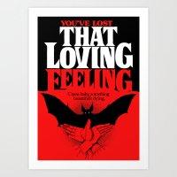 That Loving Feeling Art Print