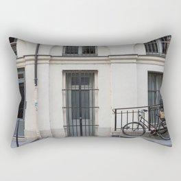 Parked In Paris Rectangular Pillow