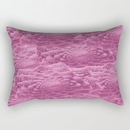 Pink Romanesco Rectangular Pillow