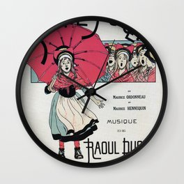 The Little Thumbelina 1891 Wall Clock