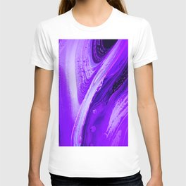 dashing purp T-shirt