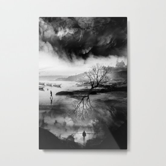 The Fisherman's son who wanted to be a mountaineer! Metal Print