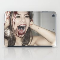 scream iPad Cases featuring Scream by Ashley Boxler