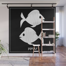 Fishes ~ Pisces ~ Zodiac series Wall Mural