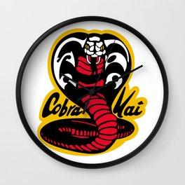 Strike First Strike Hard Cobra Kai Wall Clock