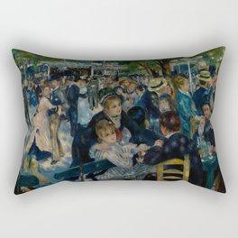 Auguste Renoir - Dance at Le Moulin de la Galette Rectangular Pillow