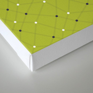 Chemistry Class Doodles - Lime Canvas Print