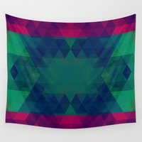geo Wall Tapestries featuring Geo by Catherine Stuckrath