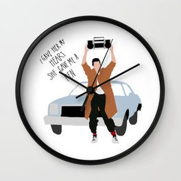 Say Anything Wall Clock