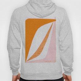 Boomerang in Pink and Orange Hoody