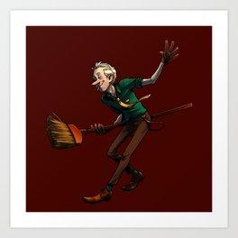 Broom Dancin' Art Print
