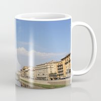 italy Mugs featuring Italy by karleegerrand