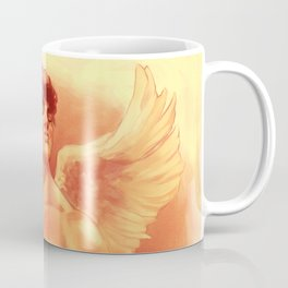 Eros In Roses Coffee Mug