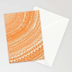 Orange Pulse o3. Stationery Cards