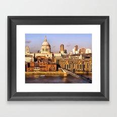 London In Art Framed Art Print