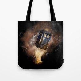 Fantastic Tardis Doctor Who Mashup with Fantastic Bag Tote Bag