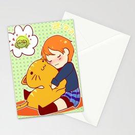 Sleepy Rin Stationery Cards