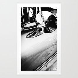 No looking back, let's drive Art Print