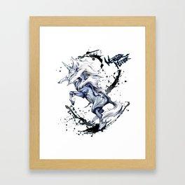 Monster Hunter World - Kirin Framed Art Print