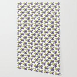 Purple Daisy Wallpaper